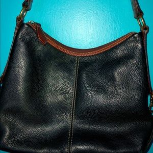 Fossil Bags - Fossil black/brown leather bag purse